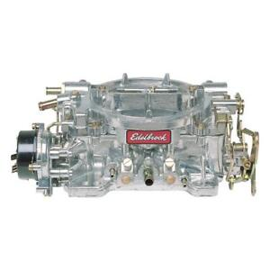 Edelbrock Carburetor 9900 Reconditioned Performer 600 Cfm 4bbl Vacuum Aluminum