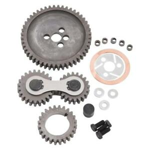 Edelbrock Engine Timing Gear Set 7891 Accu drive For Chevy 396 454 Bbc