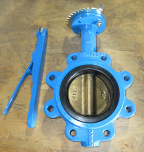 4 Mueller 88inb6 1 Ductile Iron Lug Butterfly Valve Bronze Disc new In Box
