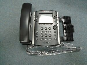 Polycom 2201 46104 001 Vvx 400 Voip Ip Color Display Telephone W Stand a