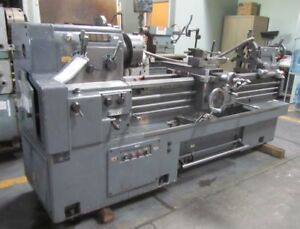 17 X 59 Webb 17gx59 Gap Bed Engine Lathe