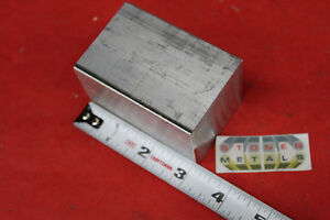 2 x 2 Aluminum Square 6061 3 Long Solid Bar T6511 New Extruded Mill Stock