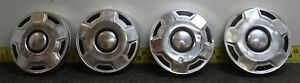 Ford Oem Set Of 4 Dog Dish Center Hub Caps 1163 1978 91 4 X 4 Truck svm33