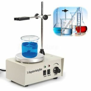 220v 50hz 78 1 Magnetism Stirrer Heating Mixer Hot Plate Magnetic Machine