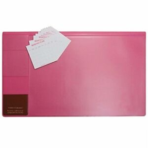 There s 21 X 13 Inch Desk Pad With Ahzoa 14 Monthly Calendar Cards hot Pink