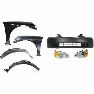 New Auto Body Repair Kit Front Coupe For Honda Civic 2001 2003