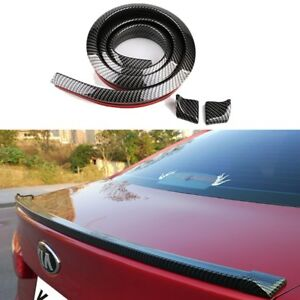 5d Carbon Fiber Spoilers Styling Car Accessories 1 5m Tuning Customs Auto