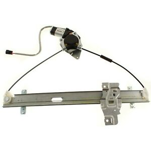 Power Window Regulator For 1998 2004 Isuzu Rodeo Front Right With Motor