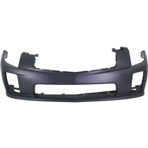 Front Bumper Cover For 2004 2007 Cadillac Cts W Fog Lamp Holes Primed