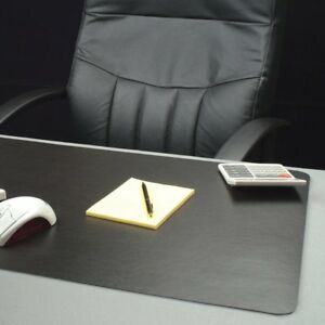 Lorell Black Bio based Desk Pad