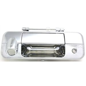 Tailgate Handle For 2007 2013 Toyota Tundra With Rear Camera Hole Chrome