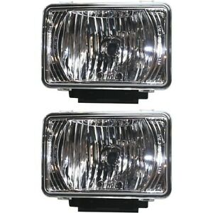 Fog Light For 2004 2012 Gmc Canyon Set Of 2 Front Driver And Passenger Side