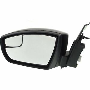 Power Mirror For 2013 2016 Ford Escape Left Side Manual Fold Paintable