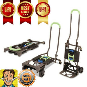 300pound Capacity Multi position Heavy Duty Folding Hand Truck Dolly Delivery