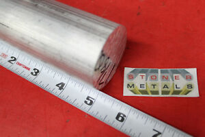 1 7 8 Aluminum 6061 Round Rod 5 Long Solid T6511 New Extruded Lathe Stock