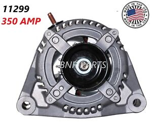 350 Amp 11299 Alternator Dodge Ram 1500 2500 3500 New High Amp Hd 5 7l 2009 2011