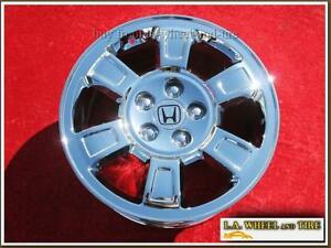 Honda Ridgeline Oem 17 Set Of 4 Chrome Wheels 63939