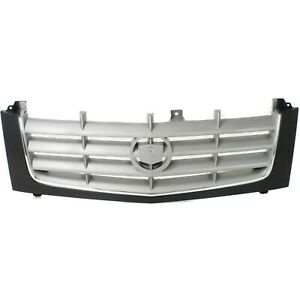 Replacement Grill Grille Chrome And Black For 02 06 Cadillac Escalade Esv Ext