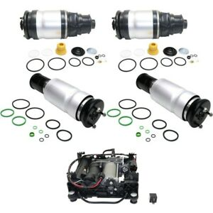Air Suspension Kit For 2006 2012 Range Rover 5pc Air Spring And Compressor