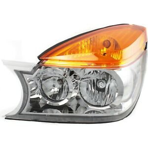 Headlight For 2002 2003 Buick Rendezvous Left Clear Lens With Bulb