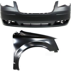 New Auto Body Repair Kit Front For Town And Country Ch1000927 Ch1241262c