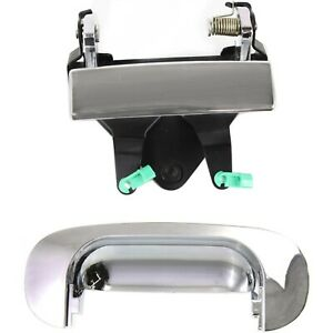 New Tail Gate Tailgate Handles Set Of 2 Chrome For Ram Truck Dodge 1500 Pair