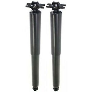 New Pack Set Of 2 Shock Absorber Rear Black Chevy Chevrolet Colorado Gmc