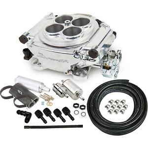 Holley 550 510k Fuel Injection Kit Polished Universal