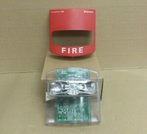 New Simplex 49vo wrf Vo Wall Addressable Red Fire Strobe Alarm
