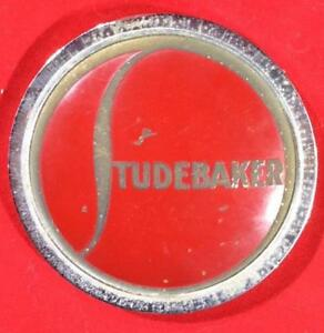 Vintage Authentic Studebaker Promotional Paperweight Medallion Badge C1936 1938