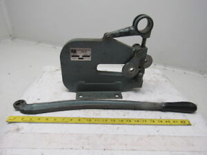 Roper Whitney Pexto Model 17 5 Ton Sheet Metal Leather Manual Hole Arbor Punch