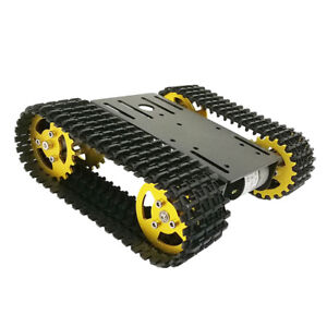 Robot Tank Car Chassis Kits For Raspberry Pi Diy Education Platform