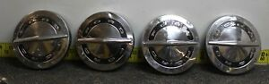 Ford Oem Set Of 4 Dog Dish Center Hub Caps 1964 1966 Svm37 A