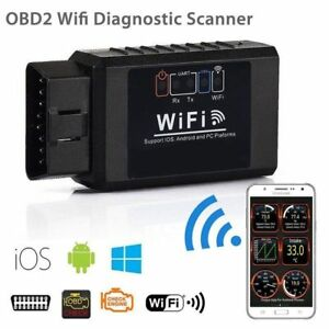 Hq Elm327 Wifi Obd2 Obdii Auto Car Diagnostic Scanner Scan Tool For Ios Android