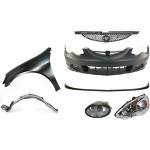 Bumper Cover Kit For 2002 2004 Acura Rsx Coupe