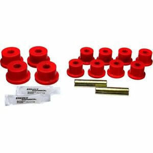 Energy Susp New Leaf Spring Bushings 2 Spring And Shackle Set Rear Samurai 86 95