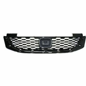 Grille 2013 2015 For Honda Accord 2 door Coupe Black Capa