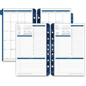 Franklin Covey Classic Monticello Dated Two page Per Week Planner Refill 2019
