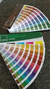 Pantone 4 color Process Guide Solid Coated Uncoated no Fading