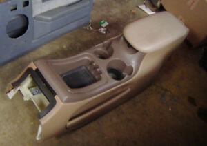 Ford Expedition Tan Center Console 1997 1998 1999 2000 2001 2002