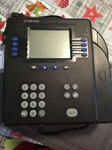 Kronos System 4500 Employee Time Clock