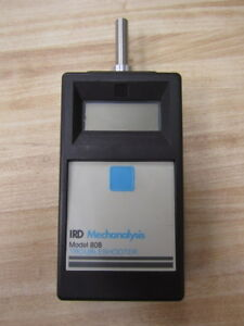 Ird Mechanalysis 808 Troubleshooter Model 808