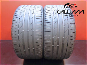 2 Two Tires Nice Goodyear 275 35 20 Excellence Runonflat Tech 102y Bmw 48844
