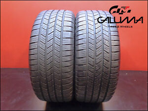 2 Two Tires Excellent Goodyear 245 45 18 Eagle Ls2 100v Runflat Tech Bmw 48867