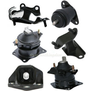 6pcs Engine Mount Kit For 2003 2007 Honda Accord V6 3 0l Automatic Transmission