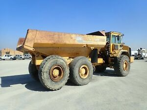 1995 Volvo A35c 6x6 Articulated Dump Truck Parts Only stock 2475