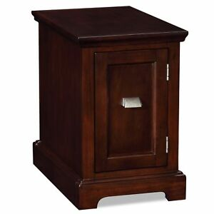 Chocolate Cherry Printer Stand Cabinet End Desk
