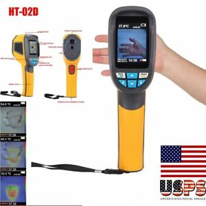 Ht 02d Handheld Digital Ir Infrared Thermal 20 300 Imaging Camera Thermometer
