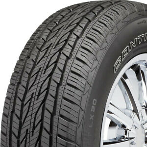 2 New Continental Crosscontact Lx20 235 70r16 106t A S All Season Tires