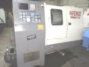 Hardinge Conquest T 42 big Bore W tailstock Live Tooling will Ship This Item